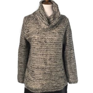 Anthropologie Katsumi Chunky Knit Cowl Sweater